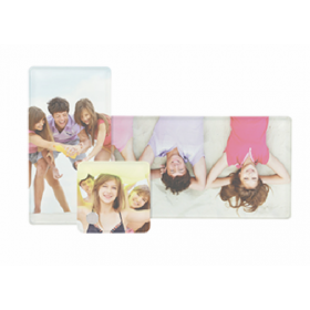 Personalised 3 in 1 Rectangular Photo Frame
